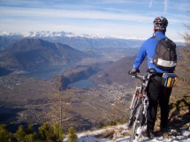 mountainbike in trentino
